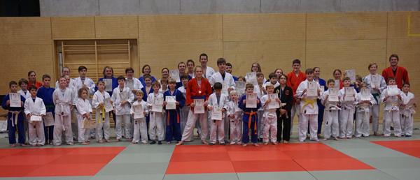 Judo Vereinsmeisterschaft 2018 alle