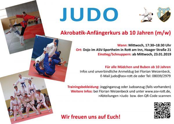 Kurs Judo-Akrobatik / Freestyle-Judo