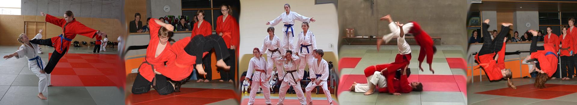 Judo Akrobatik-Freestyle