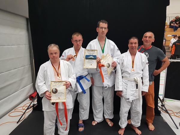 ID-Judokas in Bochholt