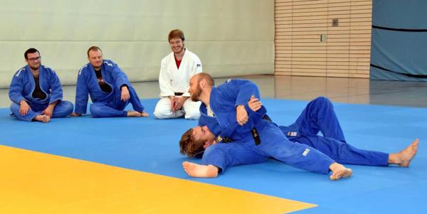 Judo meets italienische Küche