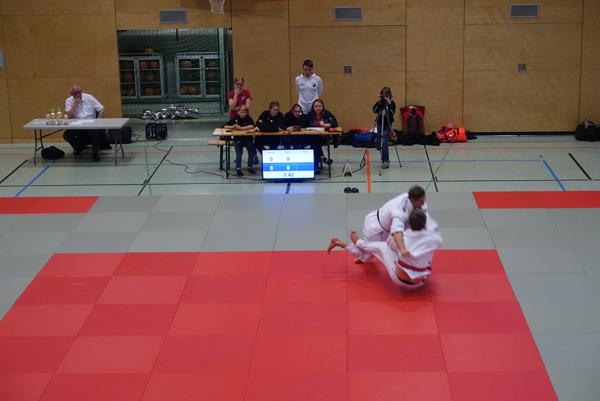 Judo-Kreisliga 2019 in Rott