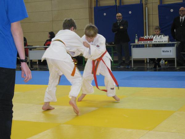 Leon beim Judo Adventsturnier Teisendorf