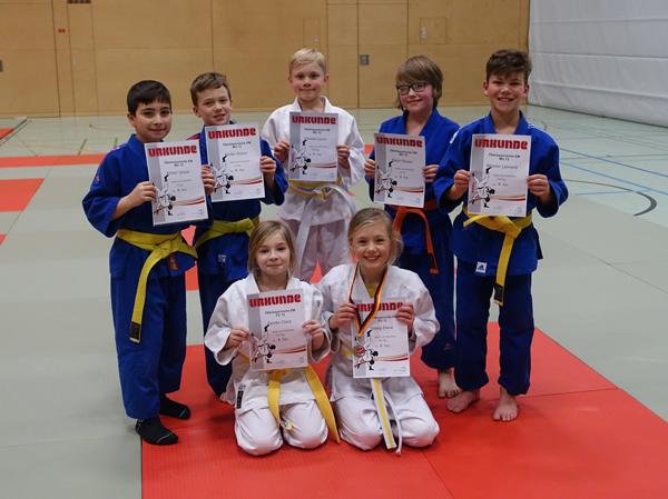 Teilnehmer ASV Rott/Inn Judo Obb. EM U12